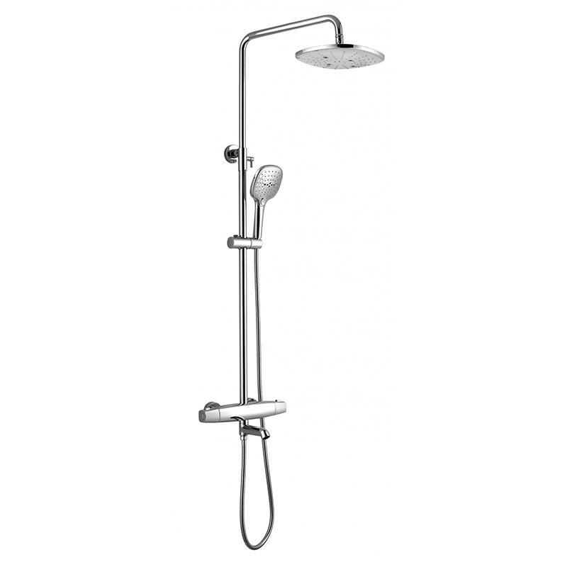 Triple Shower System Anti-scald Thermostatic Mixing Shower Valve GR ...