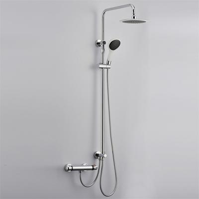 Chrome Thermostatic Mixer Shower Valve (for 4 Inch Handheld Shower System)