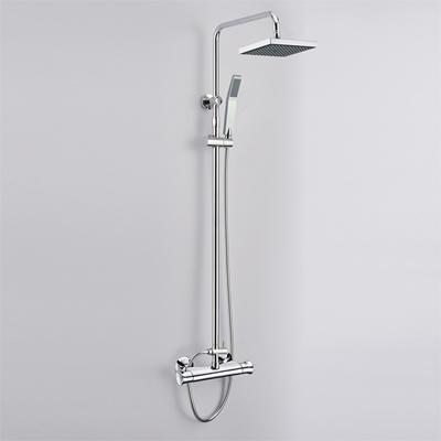 Chrome Thermostatic Mixer Shower Valve (for 9 Inch Overhead and 3 Inch 5-Function Handheld Shower System)
